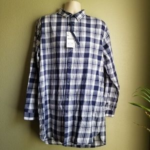 NWT Zara Man long length shirt
